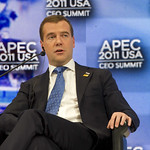 APEC Leader Interaction – President Dmitry Medvedev