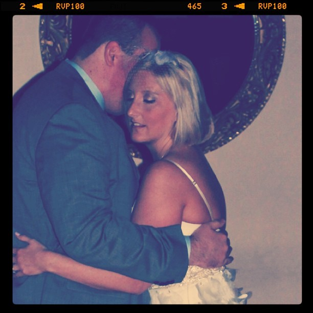 Instagram - Ben and Jenn's first dance