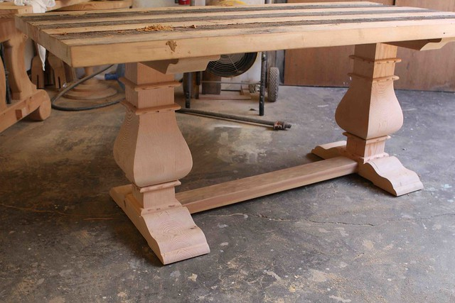 Mortise Tenon Custom Furniture On La Brea Reclaimed Wood