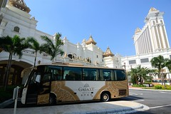 Free shuttle at Galaxy Macau