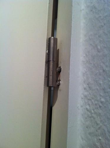 Bathroom Door Hinge