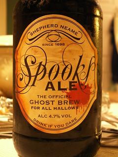52 beers 4 - 12, Shepherd Neame, Spooks Ale, England