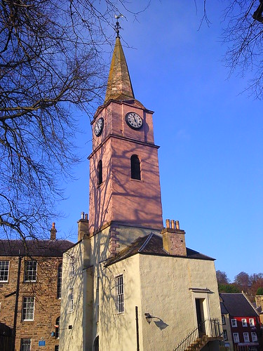 The Clock Tower in Jedburgh in the Scottish Borders