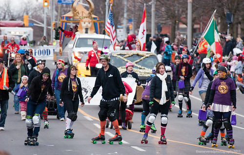 Royal City Roller Girls by thomevered