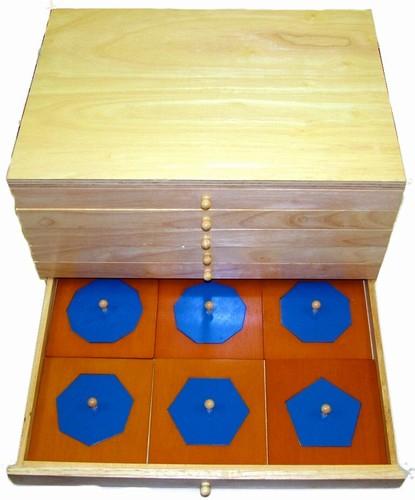 Alison's Montessori Geometric Cabinet