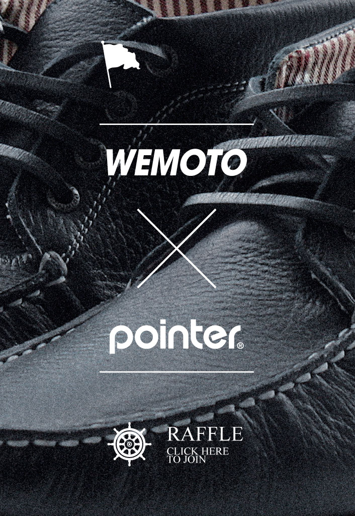 "Wemoto X Pointer ""Benson"" boat shoe"