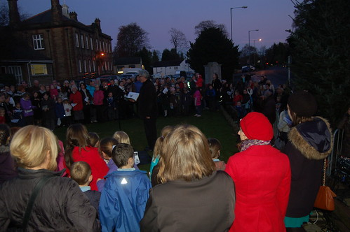Whickham Xmas lights switch on Nov 11 1