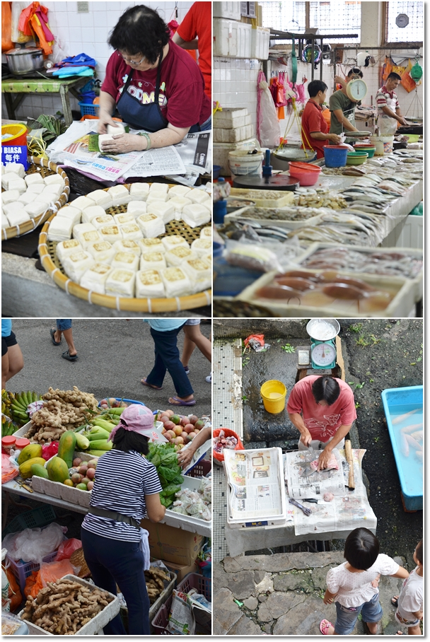 Traders at Bentong Wet Market