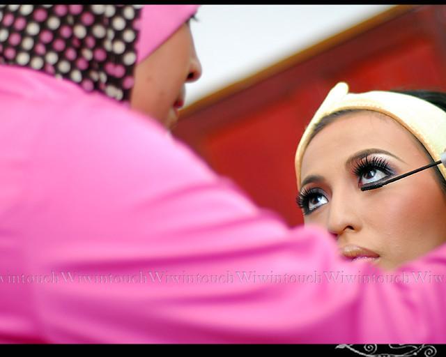 sanding makeup