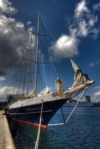 """Velero """"Eendrach"""" en el muelle de Santa Catalina del Puerto de Las Palmas de Gran Canaria by El coleccionista de instantes"""