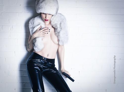 Nikita - Russian Femme Fatale by Toni Wallachy