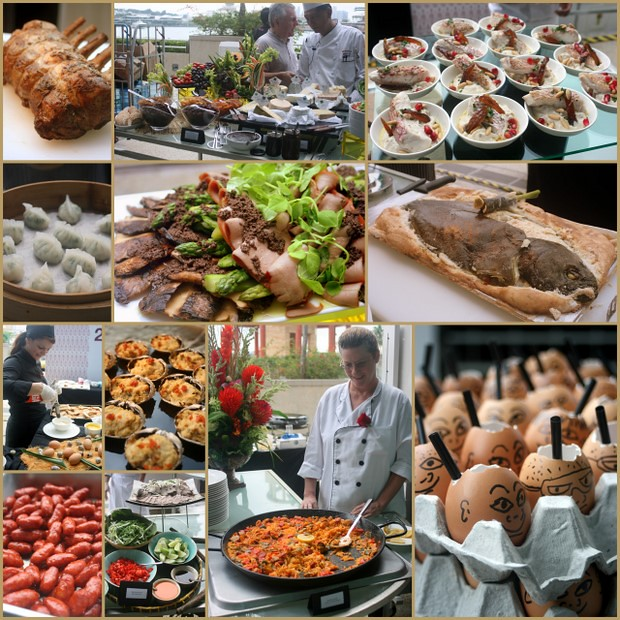 So much food at the WRX2011 Gourmet Brunch!