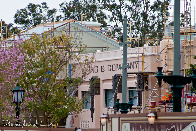 Buena Vista Street Construction - Elias and Co Sign