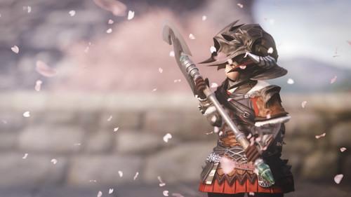 桃花の戦士
