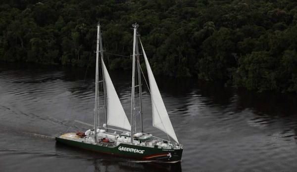 O mais novo navio do Greenpeace