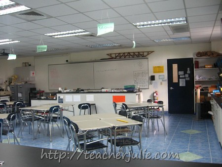 Faith Academy Chem and Physics room