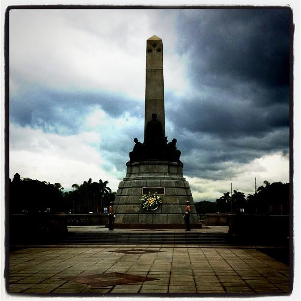 10 Jan - Rizal Monument in Manila, Philippines