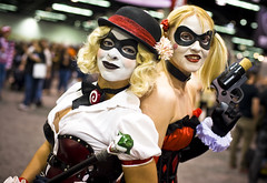 Wondercon 2012 – Harley Quinns