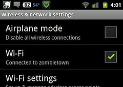 Weird: my phone is connected to my home wifi. Im practically on top of the router.  And I get just 1 bar?