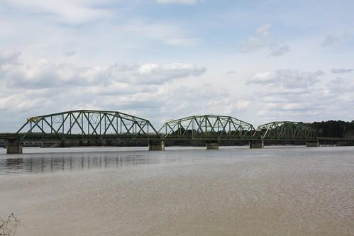 riverside alabama swingbridge hwy78 historicbridge coosariver stclaircounty talladegacounty us78 trussbridge throughtruss swingtruss thrutruss moveablebridge riversidebridge warrentruss loganmartinlake warrenthroughtruss polygonalwarrentruss ushwy78
