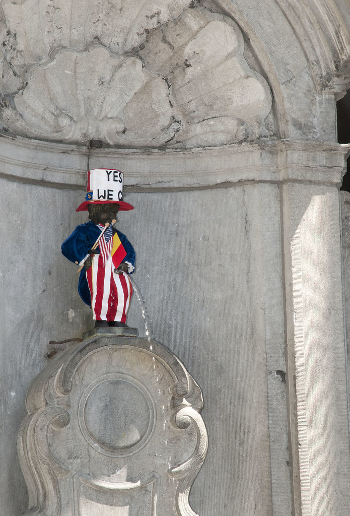 July 4, 2011 - Manneken Pis