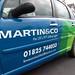 Martin & Co Vehicle Wrap