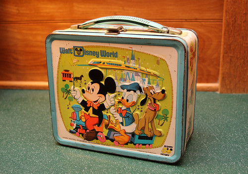Disney World Lunch Box
