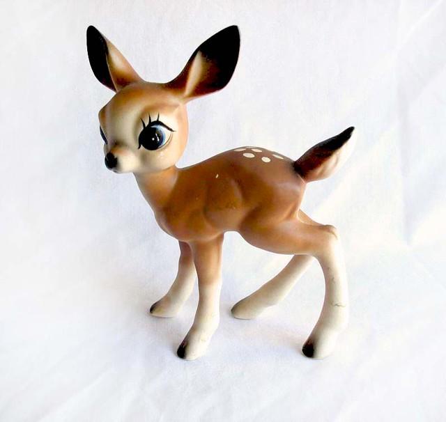 bambi deer figurine