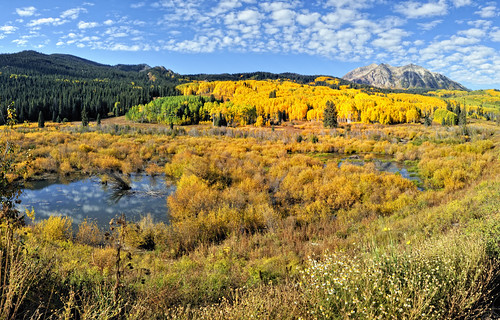 sunset mountains sunrise colorado fallcolors crestedbutte