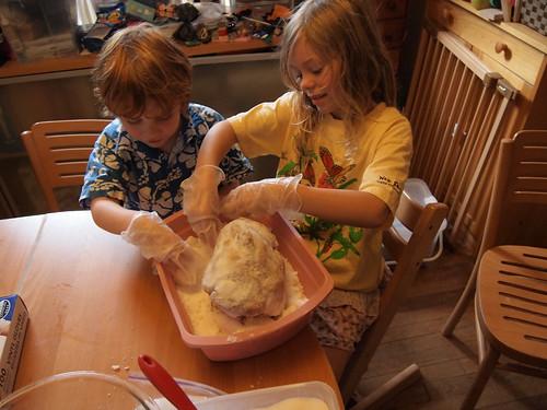Mummifying a Chicken