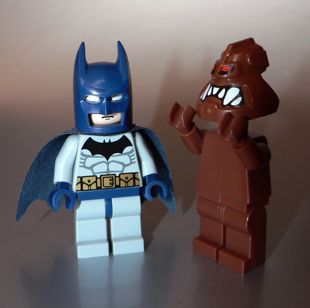 Batman & Clayface-LEGO | Flickr - Photo Sharing!