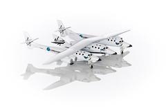 Scale Miniature Die-cast Spaceship Two