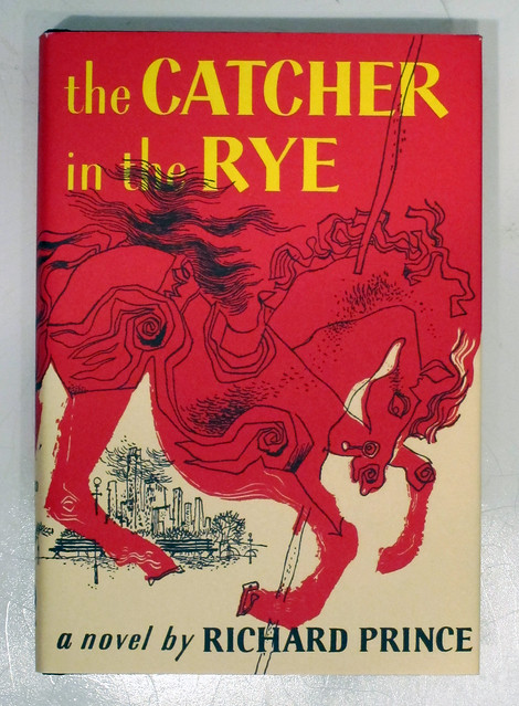 The Catcher in the Rye, a novel by Richard Prince