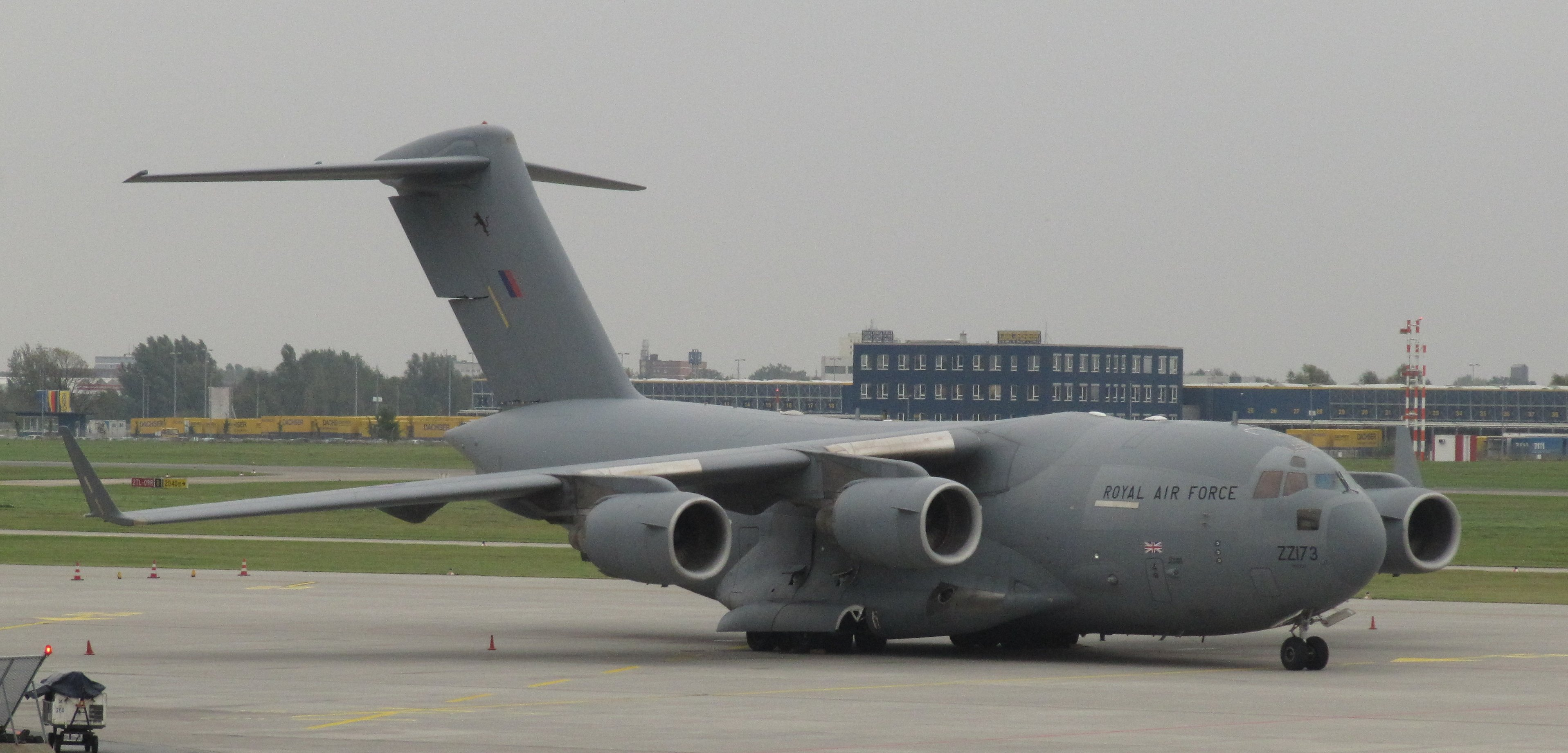 117 Globemaster ZZ173 Royal Air Force HAJ 10/10/11 | Flickr - Photo ...