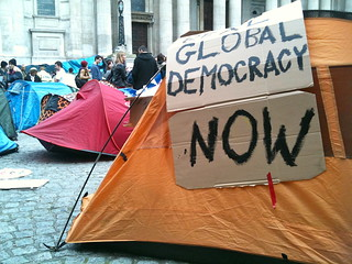 Occupy London tents