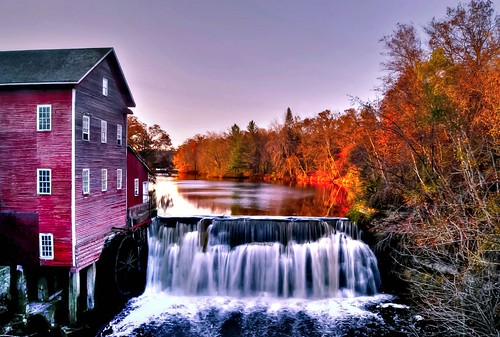 autumn windows color reflection mill water wisconsin flow waterfall colorful historic augusta hdr picnik dells lightroom a230 photomatix mygearandme mygearandmepremium mygearandmebronze mygearandmesilver mygearandmegold