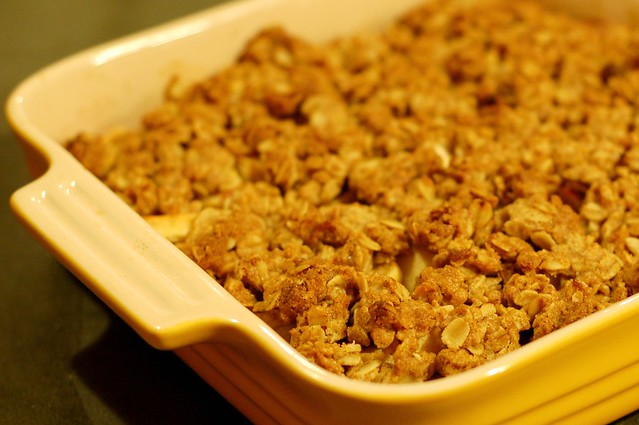 Apple crisp by Eve Fox, Garden of Eating blog, copyright 2011