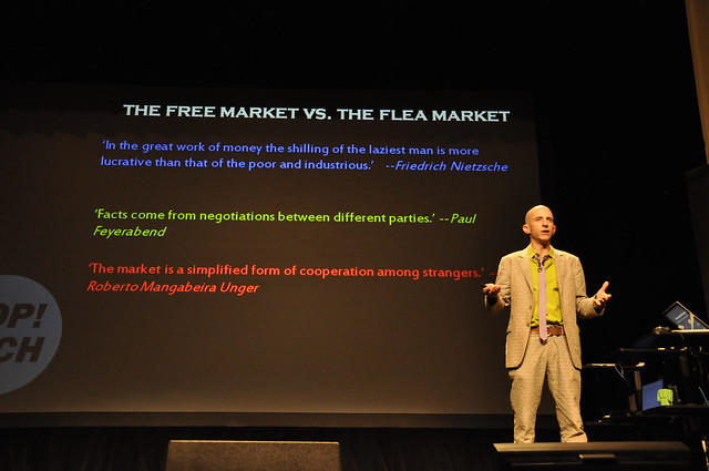 Robert Neuwirth at PopTech 2011