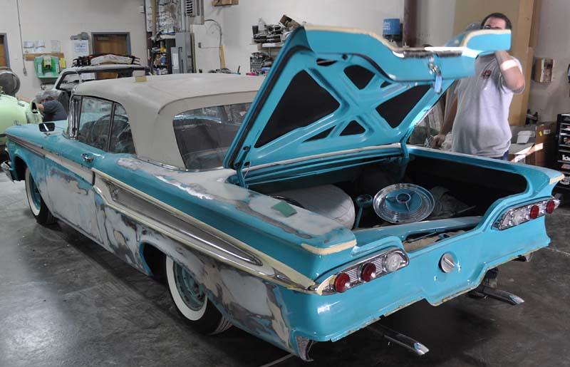 1959 Edsel Corsair Paint Restoration O A Stylefont Size08