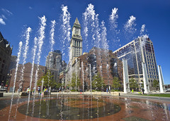 Rose Fitzgerald Kennedy Greenway Fountain Custom House Flickr