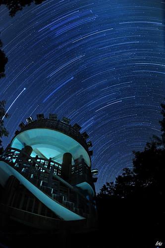 taiwan taichung startrails 台中 大雪山 星空 東勢 瞭望台 森林遊樂區 星軌 銀河 海拔2600