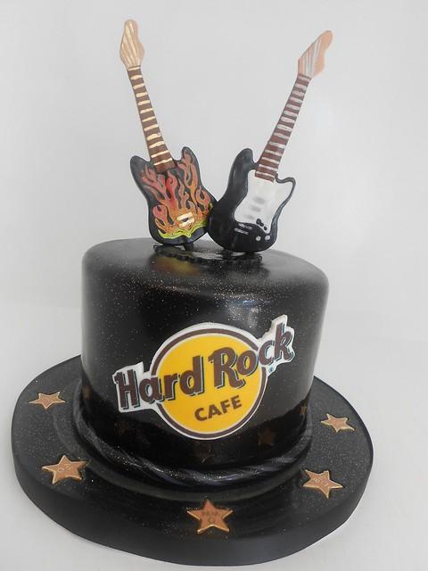 Hard Rock Cafe Birthday Cake