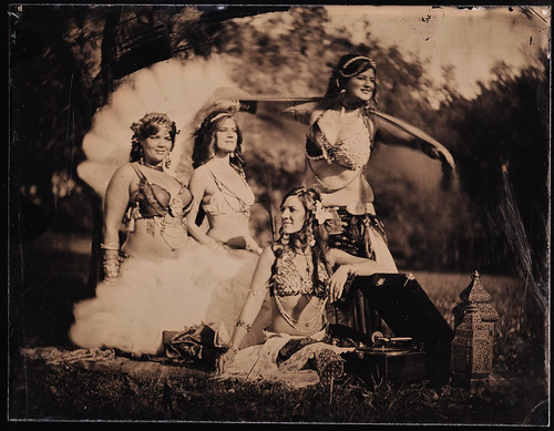 Nashville tintype portrait fusion bellydance bodhicitta