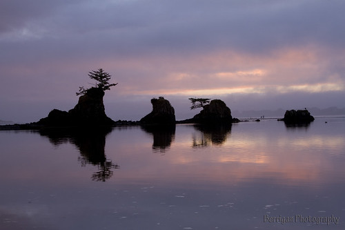 ocean city sunset silhouette rock oregon canon pacific scenic 7d lincoln jedibob