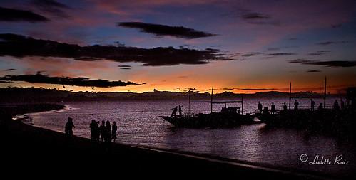 sunset sunrise leyte palompon kayakrace easternvisayas kayakmarathon calanggamanisland