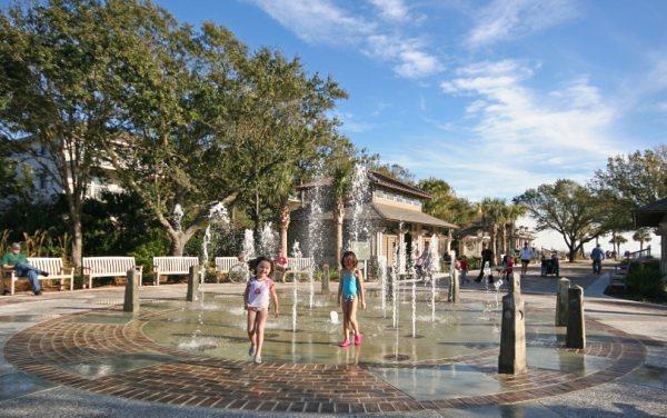 coligny fountain beach park hilton head sc flickr
