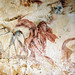 The abduction (i.e. rape) of Persephone by Hades, Greek Fresco, 4th century BC, Macedonian Tomb, Vergina, Greece, photographer unknown