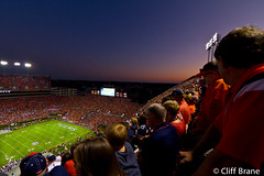 Auburn, Alabama - The Sun Sets on Florida's Season 2011