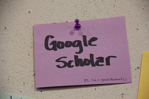 Google Scholar P.S. I'm a grad student :)