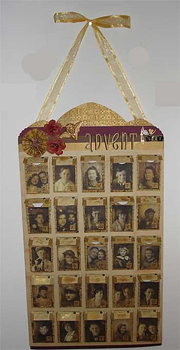 Tim Holtz Inspired Advent Calendar